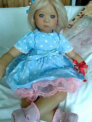 ANNETTE HIMSTEDT LIMITED EDITION JETTE TODDLER DOLL ~ 2000 Mint In Box COA