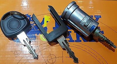 Genuine Vauxhall Combo,corsa C, Meriva,ignition Barrel And 2 Key