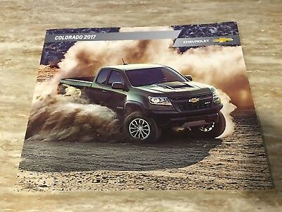 2017 Chevy COLORADO 42-page Original Sales Brochure