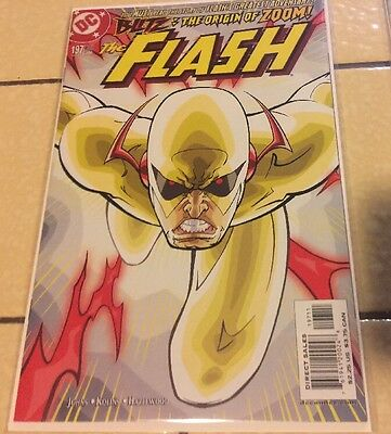 The Flash 197 NM+ Or Higher First Zoom & 196 Beautiful Book DC Comics Set Tv Lot
