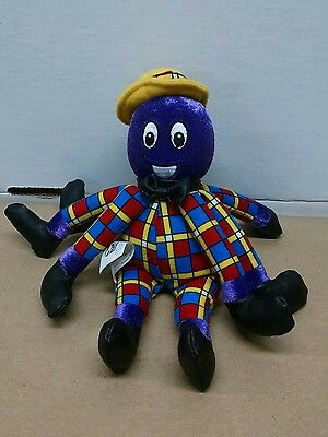 The Wiggles Henry the Octopus Stuffed Toy Spin Master 8 inches Plush