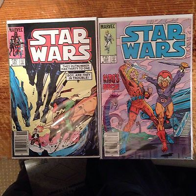 Star Wars 101 And 102 Low Print Runs Rare