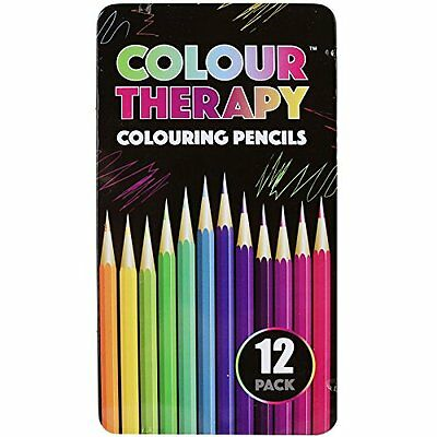 Colouring Pencils Professional Quality Colour Therapy Coloured Pencils Bright St