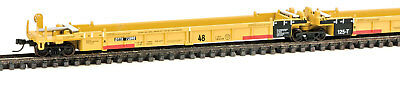 Walthers N Scale Thrall 5-Unit Articulated 48' Well Car Trailer-Train/DTTX 72890