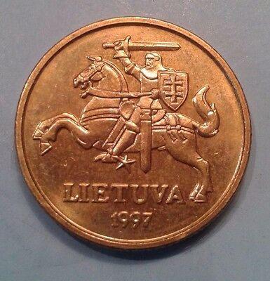 Lithuania 20 Cent coin 1997