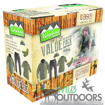Ridgeline Top To Toe Value Clothing Pack - Olive