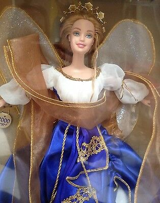 HOLIDAY ANGEL BARBIE COLLECTIBLES NIB 2000 Collector Edition #28080 Mattel