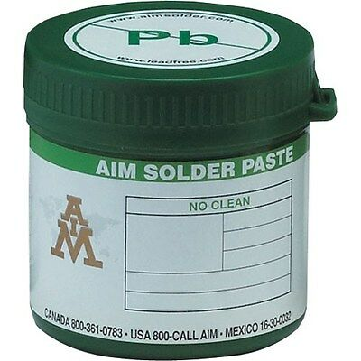 AIM No Clean, Lead Free, RoHS Solder Paste 500g Experimenters Special!