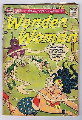 Wonder Woman #93 Fair 1957 Complete Stories Early Silver Age DC Comics CGC