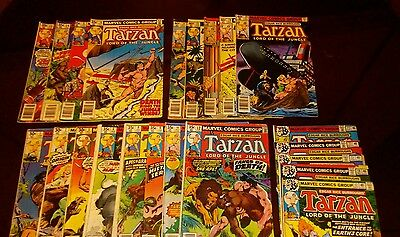 Tarzan Lord of the Jungle  – Lot of 23 Issues - Vintage