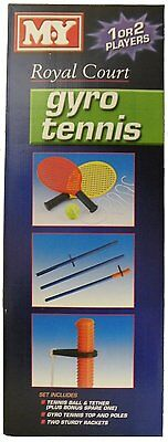 M.y Royal Court Kids Outdoor 1 To 2 Players Gyro Tennis Garden Game Set