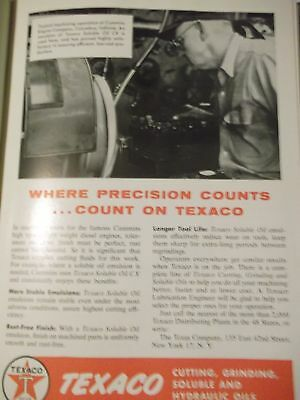 The Texas Company technical publication bound vol 43 1957 Lubrication Texaco