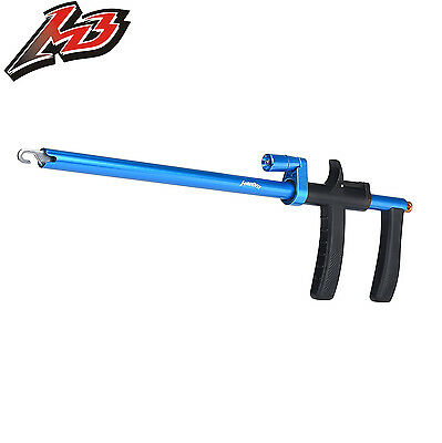 MadBite Lighted Hook Remover Fish Hook Puller for Night Fishing - Blue - 13.6""