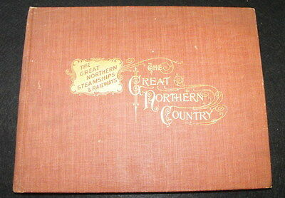 1895 Great Northern Steamships & Railways Company Book - Great Northern Country
