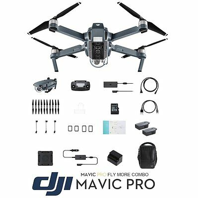 DJI Mavic Pro Combo Drone 4K Camera GPS - FULL SET COMBO