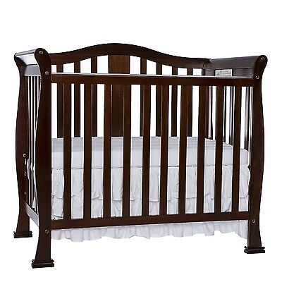 Dream On Me Addison 4 in 1 Convertible Mini Crib Espresso