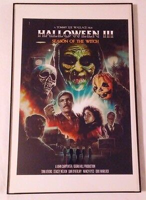 Framed Movie Print : Halloween III ( Season Of The Witch ) New