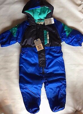BNWT Next Waterproof Pramsuit Snowsuit Hooded Puddle Suit All in One Lined Boys