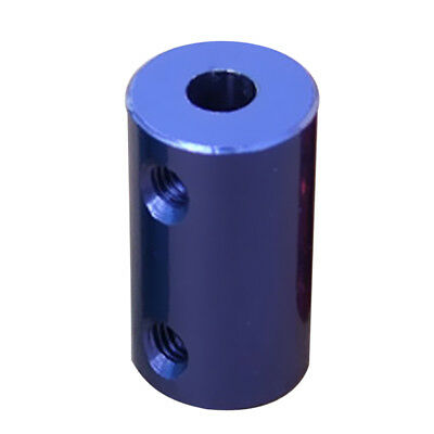 5mm-5mm Aluminum Alloy Flexible Shaft Coupling Coupler Motor Connector Blue