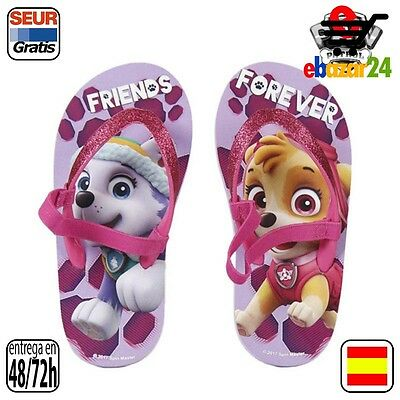 The Paw Patrol Original Chanclas Friends Forever La Patrulla Canina Talla Calzad