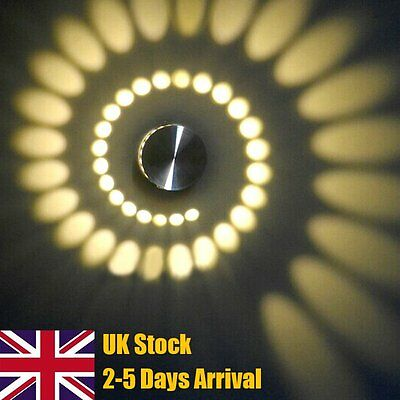 5W Warm Day White LED Wall Light Sconce Light Modern up&down Lamp Indoor Outdoor