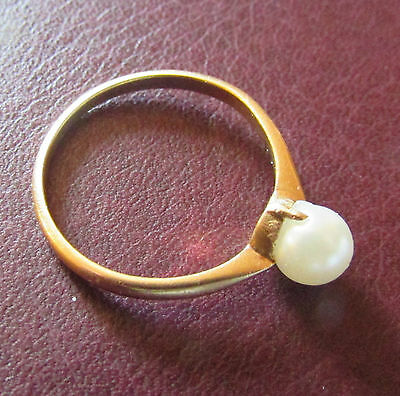 Bague Or massif 18k Taille 55
