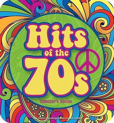 HITS OF THE 70s, 3 CD Box Set (Collector's Limited Edition Tin) New Sealed