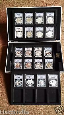 Silver Coin Collection MS70 ANACS Certified Numis Investment Business Currency