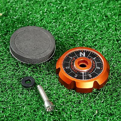Orange Aluminum Adjustable Sole Plate ASP For TaylorMade Golf R1 & R1 TP Driver