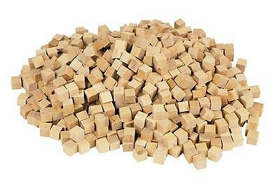 Cubes 1cm Wood (150) for Building, Counting and 3D Shapes