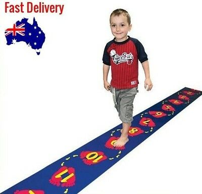 Step Along Counting Mat (0-20) 5.2m x 30cm: Teaching and Learning Resource