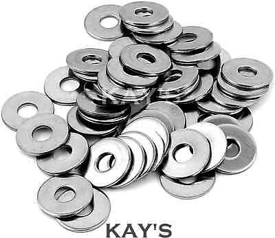 Thin Flat Form B Washers To Fit Metric Bolts & Screws A2 Stainless Steel