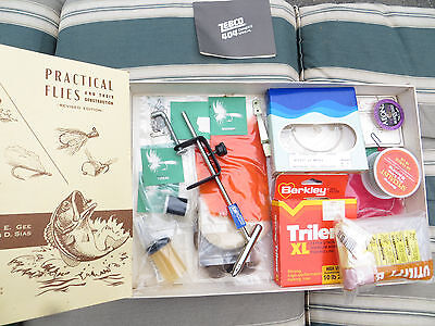 Vintage Fly Tying Kit