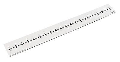 Magnetic Number Line Blank 40cm x 6cm 1p Maths Teacher Resource White Board Kids