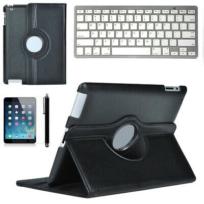 Bluetooth Keyboard With Stand Flip PU Leather Case +Pen for iPad Pro 12.9""