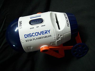Discovery Star Planetarium Stars & Planets Projector w/1 Disc Batteries Included