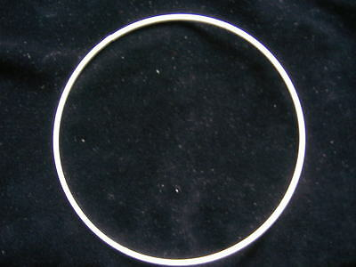 """10 X 24"""" Wire Rings  For  Lampshades, Macrame, Stained Glass  And Other Crafts"""
