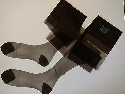 Stockings 11x38.5 RHT 51/15 Nylon Silk Maid Tall Girls Extra Long Vintage