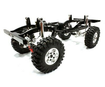 Integy Voll-Alu 1:10 D90 Roller 4WD Off-Road Scale Crawler ARTR C25027SILVER