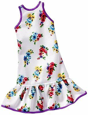 Barbie Fashion Outfit Clothes - Universal Fit - White Dress - DXB02 - NEW