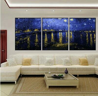 Set of Three 40*50cm Canvas Painting by Number Kit ART FUN S5 F3P007 AU STOCK