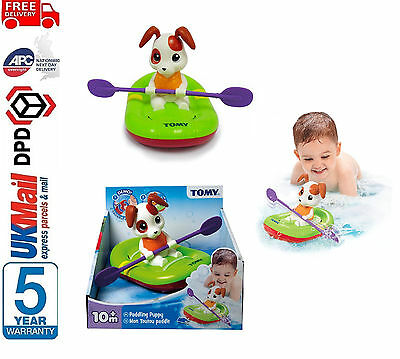 BRAND NEW  TOMY 72424 Paddling Puppy Wind Up Bath Toy Baby Infant Toddler