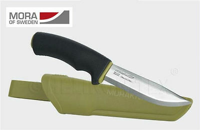Morakniv Bushcraft Force Stainless Steel Black/Olive MORA Messer NZ-BFP-SS-16.