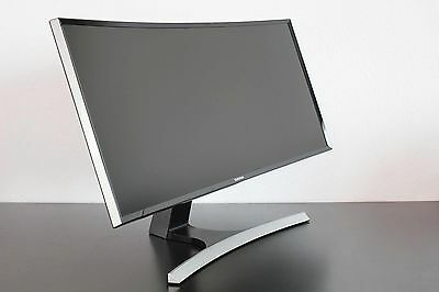 "Samsung S34E790C 34"" LED Curved Monitor QHD 3440x1440 21:9 HDMI DP Speaker VA"