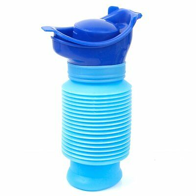 Portable Family Unisex Mini Toilet Urinal Bucket for Travel and Kid Potty P N8J8