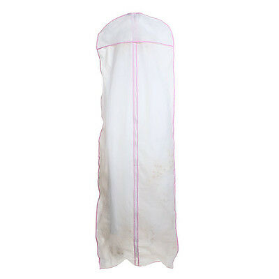 Wedding Evening Dress Gown Garment Storage Cover Bag Protector 174cm
