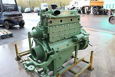 Om352 Mercedes Mb Trac 1000 Engine Excellent Upgrade 800 900 Unimog