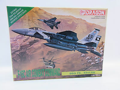 LOT 29282 | Dragon 4564 F-15C Air Combat Command 1:144 Bausatz ungebaut NEU OVP
