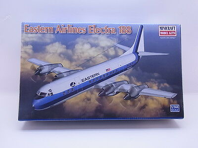 LOT 4298 | Minicraft 14661 Eastern Airlines Electra 188 1:144 ungebaut NEU OVP
