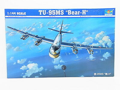 "LOT 31247 | Trumpeter 03904 TU-95MS ""Bear-H"" 1:144 Bausatz NEU in OVP"